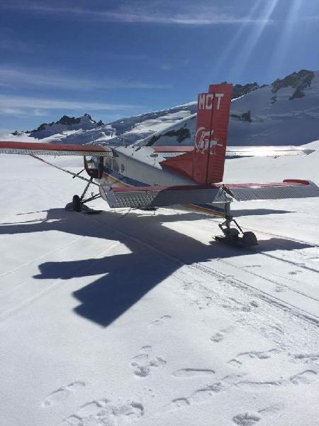 Landing on Franz Josef