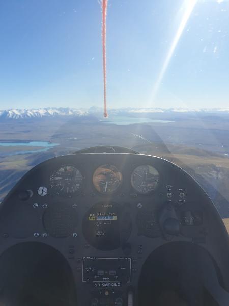 Gliding in omarama