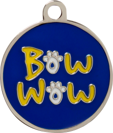 Bow Wow Pet Tag