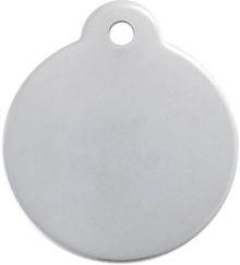 Stainless Steel Disc Pet Tag