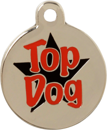 Top Dog Pet Tag