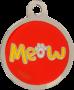 Meow Pet Tag