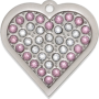 Coco Bling Heart Pet Tag