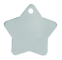 Stainless Star Pet Tag