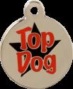 Top Dog Pet Tag