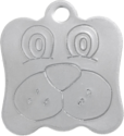 Stainless Dog Pet Tag
