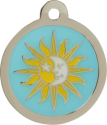 Sun & Moon Pet Tag