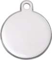 Nickel Disc Pet Tag