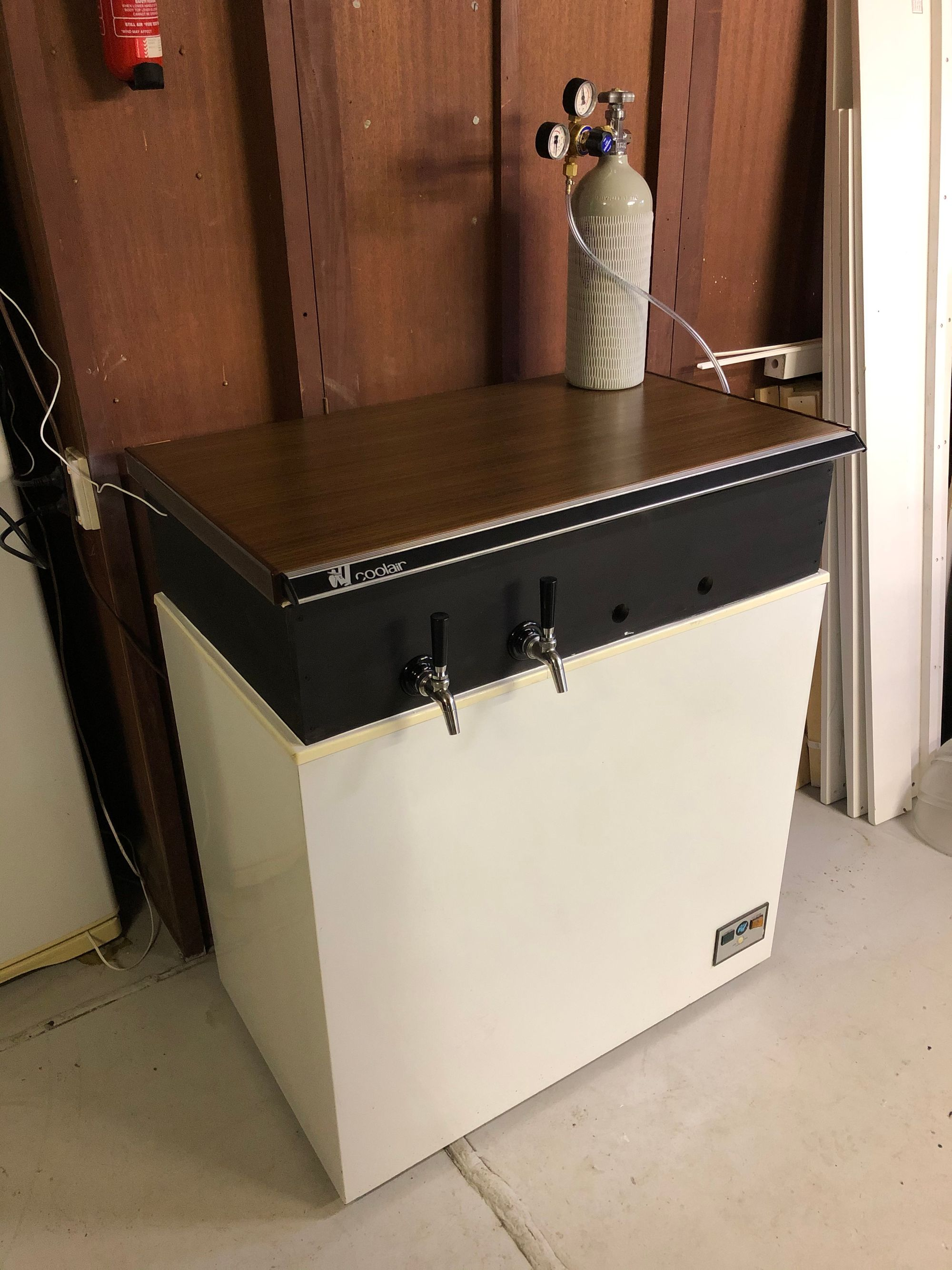 Keezer build