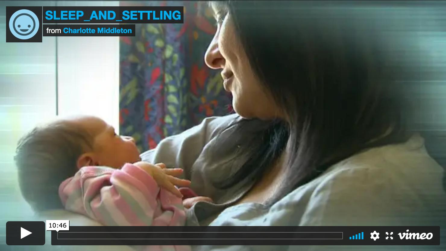 Sleep and Settling in Newborn Babies