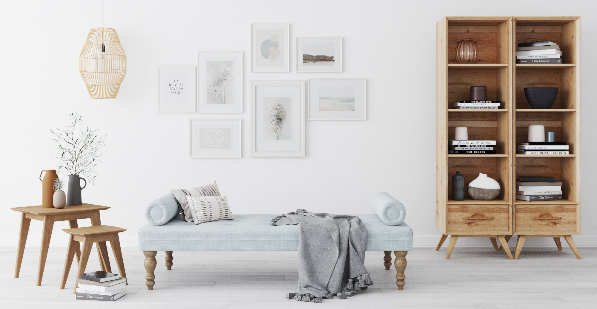 Brosa Theron Daybed styled in classic traditional office