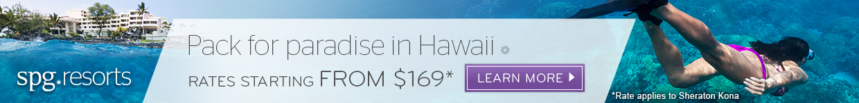 Starwood Hawaii Banner