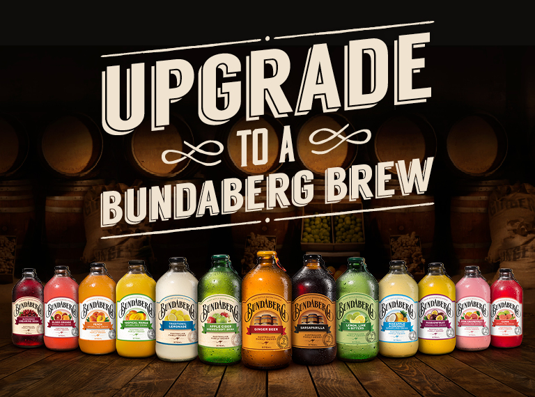 Upgrade to a Bundaberg Brew