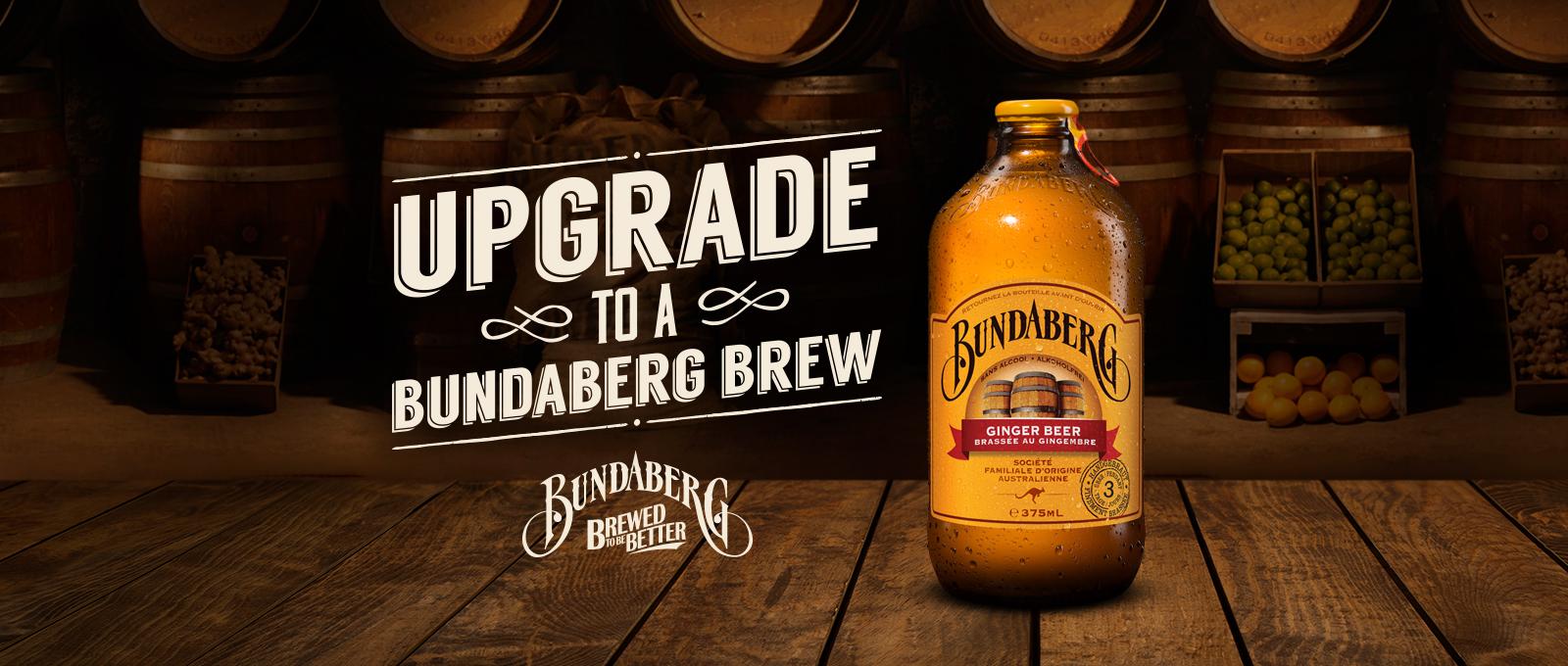 Upgrade to a Bundaberg Brew