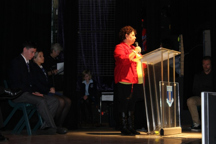 Sue Hodges The President of the Mankillikan Local AECG