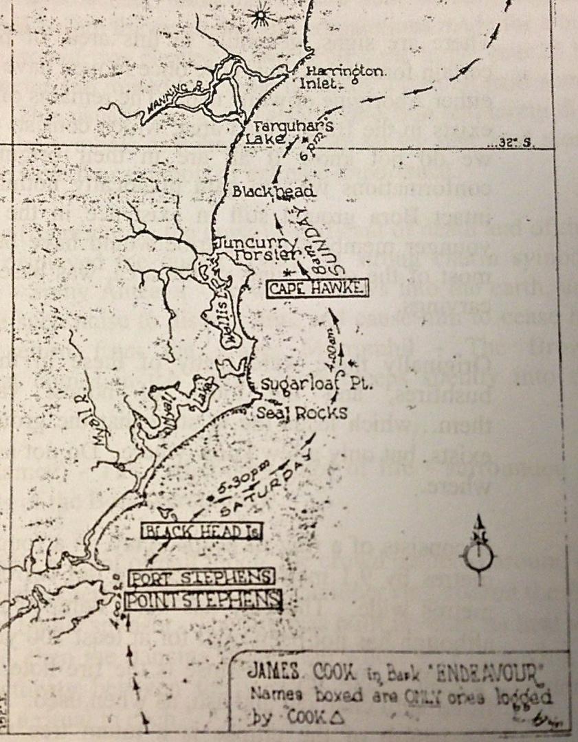 Captain Cook's Journey