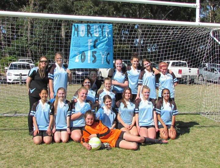 Moruya Swans Youth Girls Soccer Team