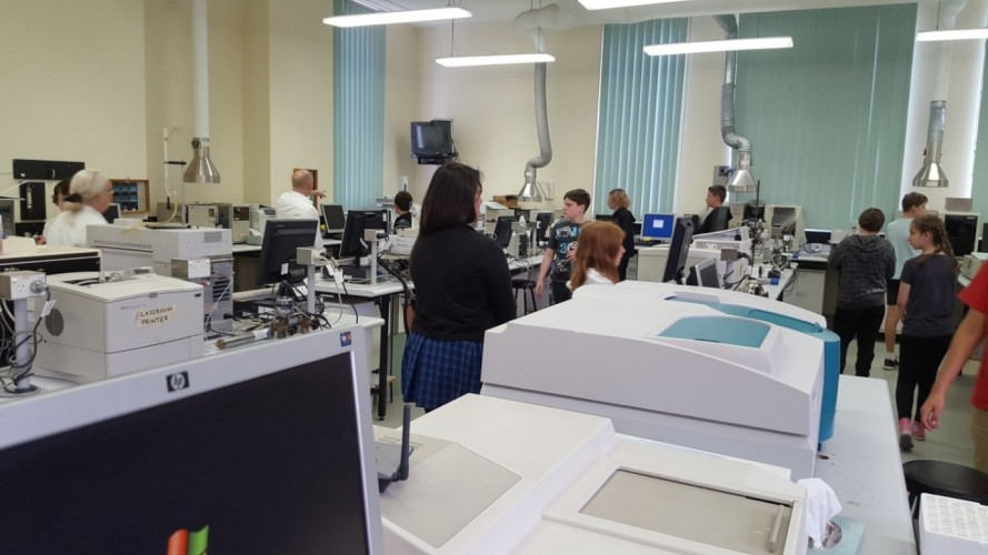 The variety of machines that help Pathologists to analyse blood samples etc.