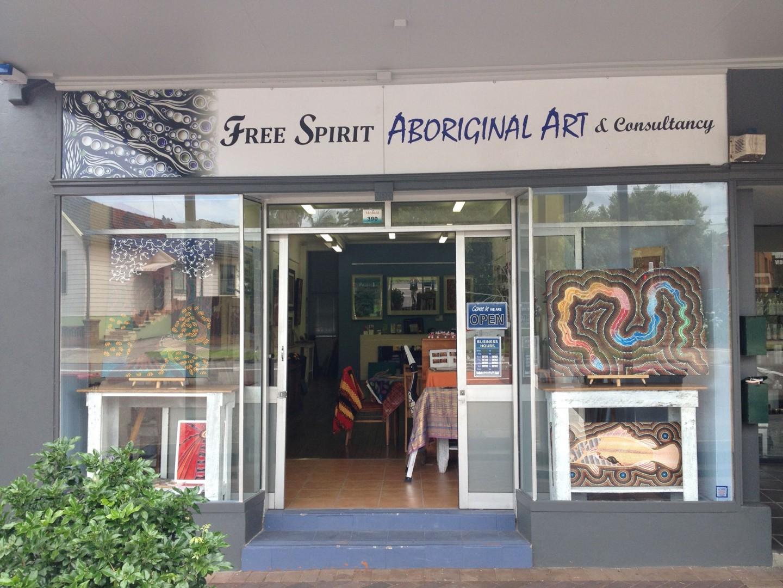 Free Spirit Aboriginal Art Gallery in Mayfield West.