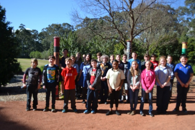 Galuwa students at Woolotuka Institute UoN.