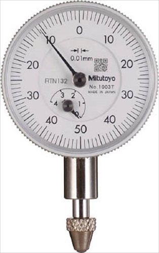Mitutoyo Dial Indicator 0.01mm x 4mm
