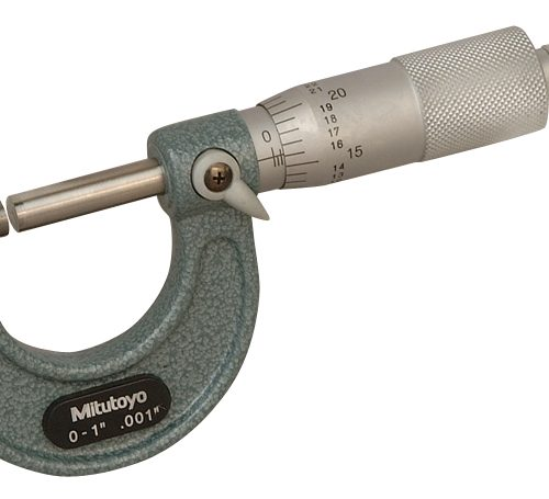 """Mitutoyo Outside Micrometer 1-2"""" x .001"""""""
