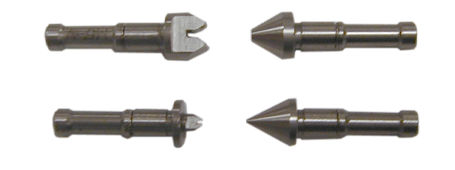 Mitutoyo Anvil and Spindle Tip Set (60 Deg) 0.4mm-7mm / 64-3.5 TPI