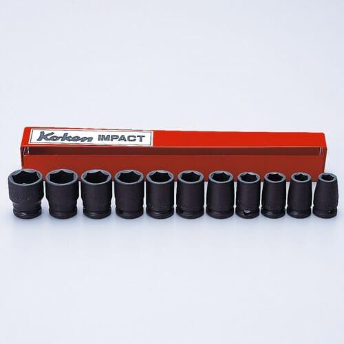 "13241M Impact Socket Set 11pc 3/8""Dr 9-19mm"