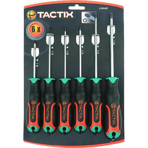 Tactix Screwdriver 6pc Set TX