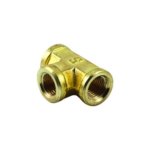 3/8in BSP Brass Female Tee