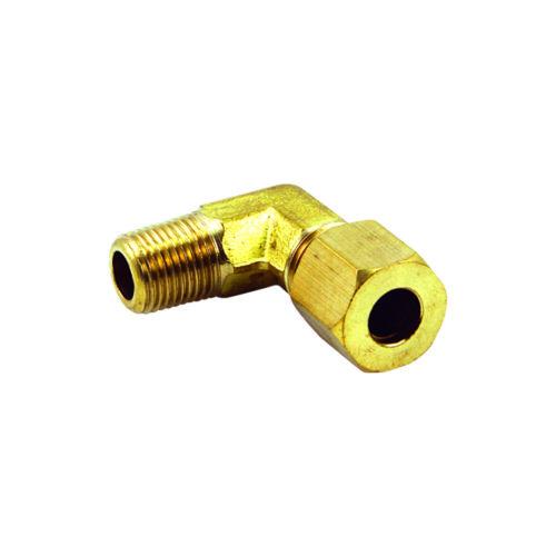1/4in x 1/4in BSP Brass Single Union Elbow 90Deg.