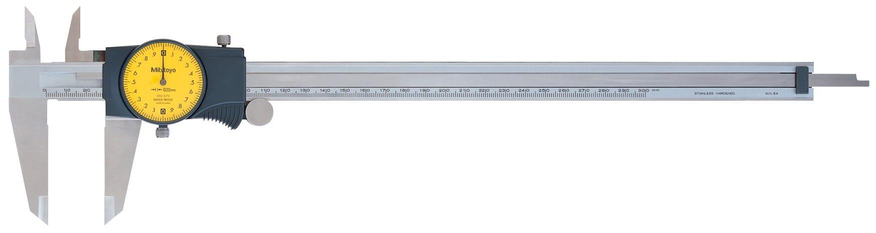 Mitutoyo Dial Caliper 300mm x 0.02mm
