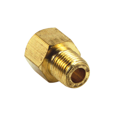1/4IN X 1/8IN BSP BRASS INV. FLARE SINGLE UNION BODY