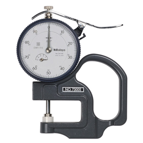 Mitutoyo Dial Thickness Gauge .500""