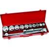 Tactix Onsite 15pc Socket Set 3/4in Dr Metric
