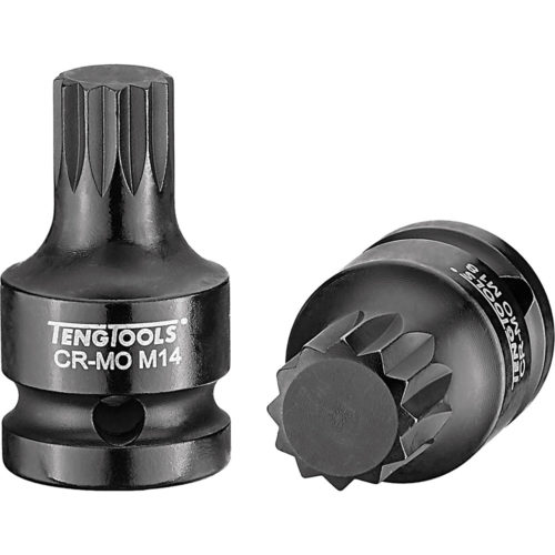 TENG 1/2IN DR. IMPACT SOCKET XZN 14 X 43MM