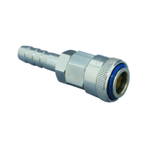 3/8 HOSE BARB COUPLING - NITTO AIRLINE FITTING
