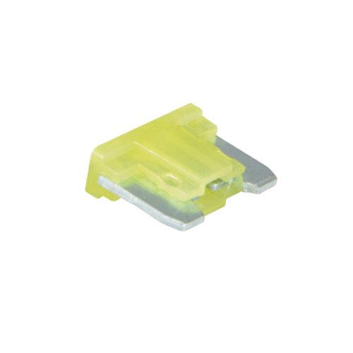 Champion 20Amp Low Profile Mini Blade Fuse (Yellow) -15pk