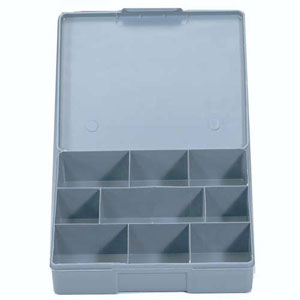Champion 9 Division Compartment Box (Grey)