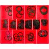 155PC INTERNAL/EXTERNAL CIRCLIP ASSORTMENT -METRIC