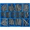 256PC STAINLESS MACHINE SCREWS & NUTS ASSORTMENT