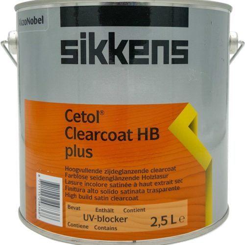 Sikkens Clearcoat Hb Plus 2.5L