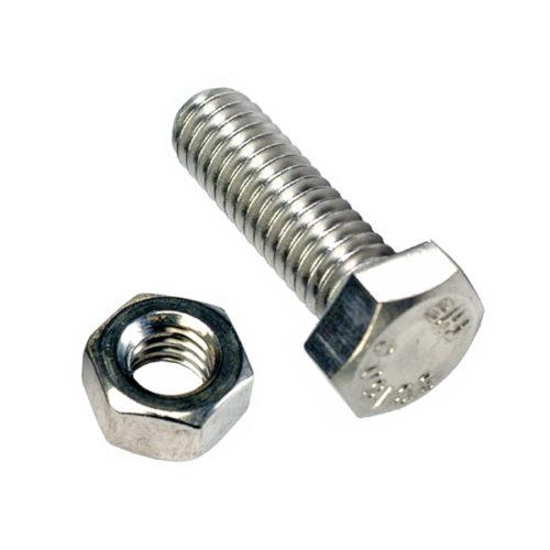 Champion 1-1/2in x 7/16in Set Screw  & Nut (C) - GR5