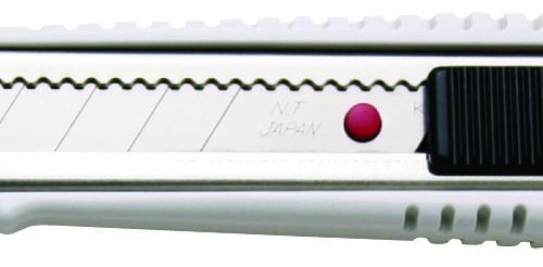 L-300RP Snap-Off Cutter 18mm Blade Auto-Lock White