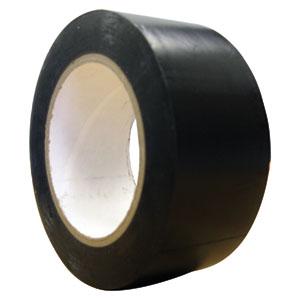 PCS UCC 200 Micron Pvc Overwrap Tape 50mm X 30m (Black)