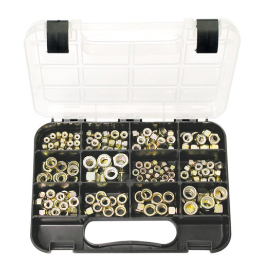 Champion GJ Grab Kit 180pc Self-Lock Nuts Imperial