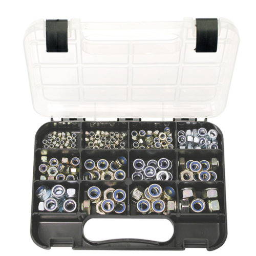 Champion GJ Grab Kit 195pc Self-Lock Nuts Metric