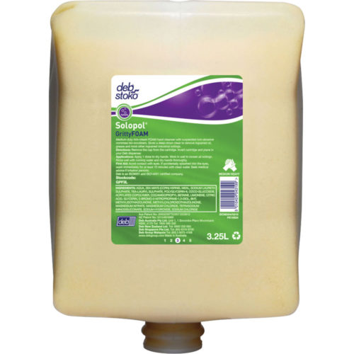 Deb|Stoko Solopol GrittyFoam - 3.25L Cartridge