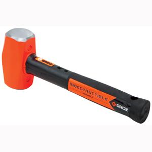 Groz Indestructible Handle Club Hammer 4lb/1.8kg