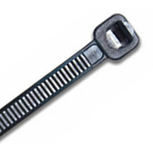 ISL 430 x 4.8mm UV Nylon Cable Tie - Blk. - 100pk